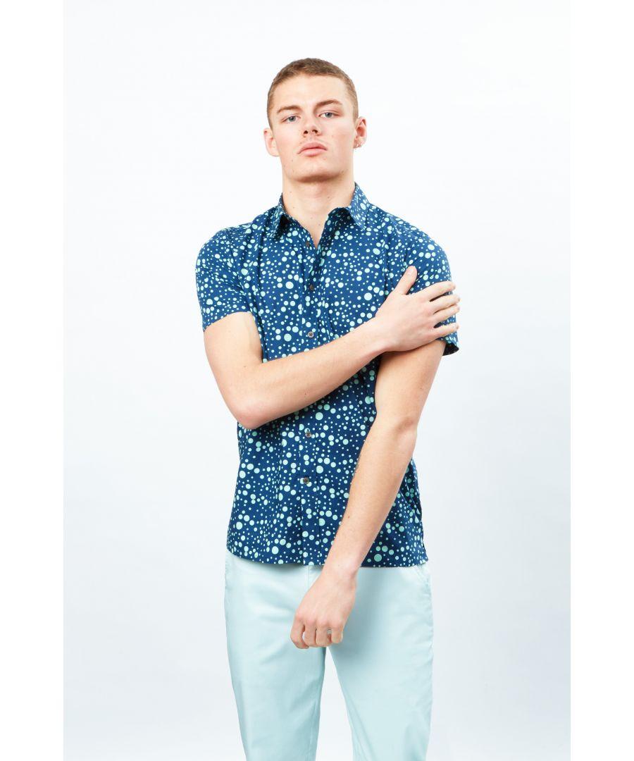 Image for Multi Spot Short Sleeve Shirt