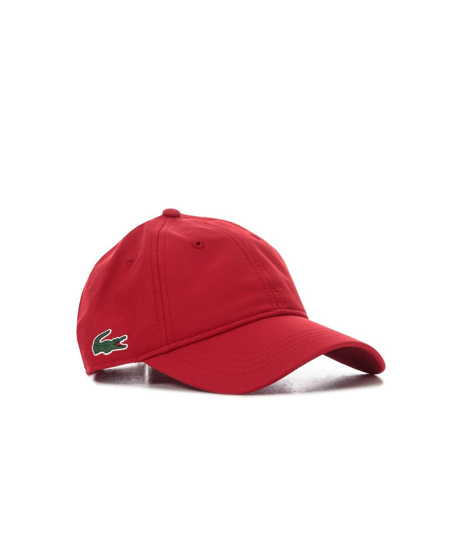 Image for Accessories Lacoste Baseball Capin Red