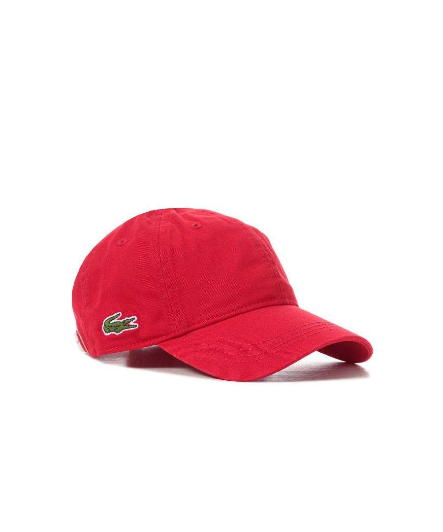Image for Accessories Lacoste Baseball Cap in Red