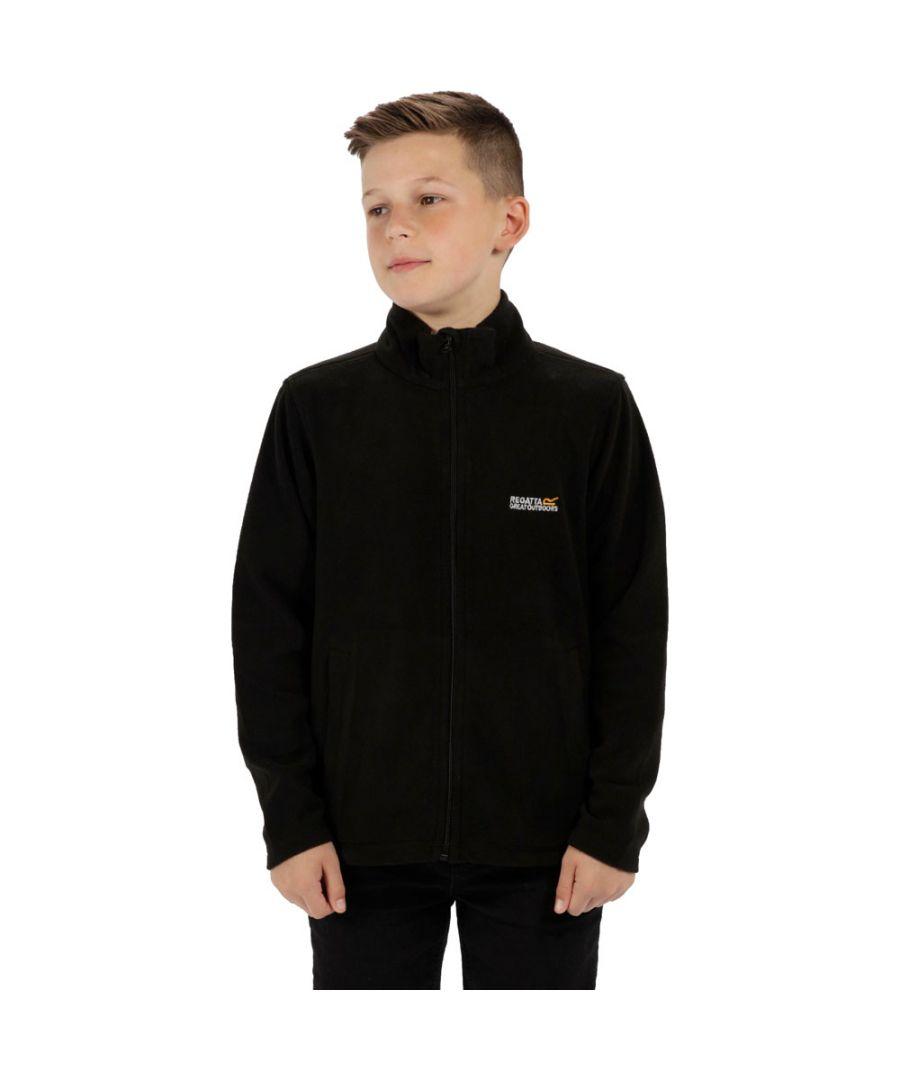 Image for Regatta Boys & Girls King Lightweight Fleece II Full Zip Fleece Jacket