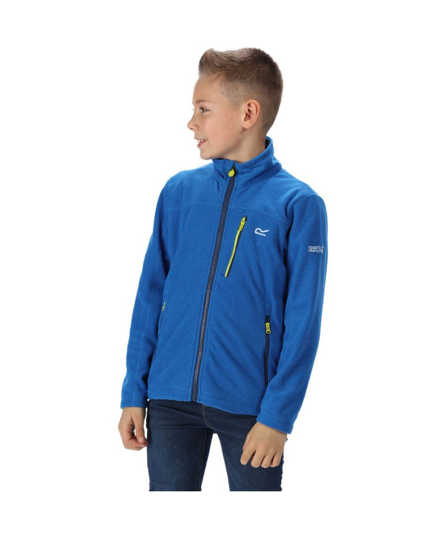 Image for Regatta Boys Marlin VI Adjustable Walking Fleece Jacket