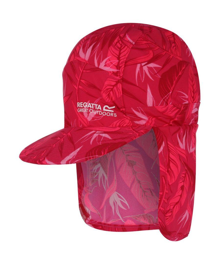 Image for Regatta Boys & Girls UV Neck Protective Sunshade Baseball Cap Hat
