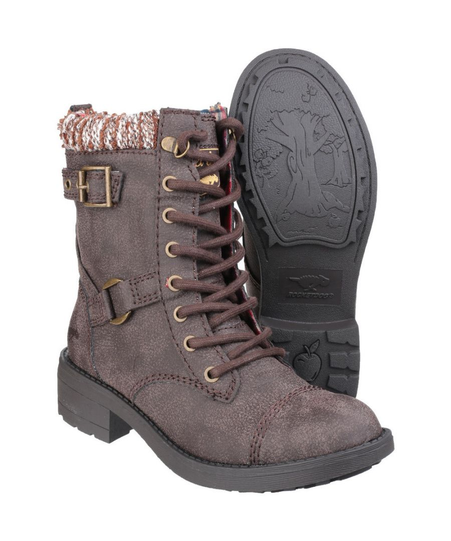 Image for Rocket Dog Womens/Ladies Thunder Lace up Casual Faux Leather Boots
