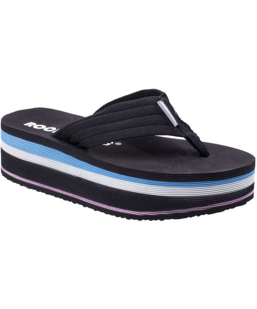 Image for Rocket Dog  Womens/Ladies Jimmies OG Web Light Platform Flip Flops