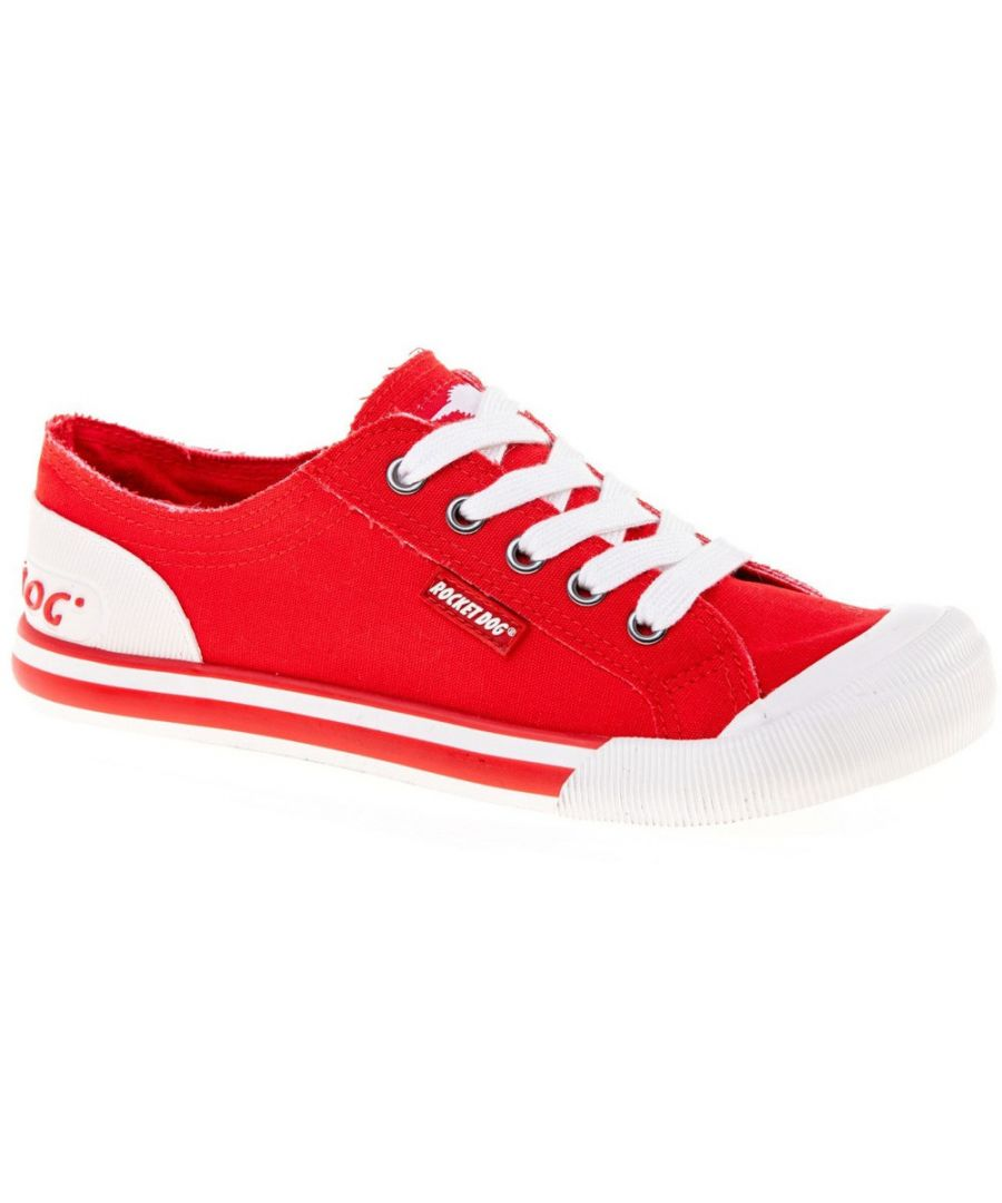 Image for Rocket Dog Womens/Ladies Jazzin Canvas Lace Up Casual Summer Trainers