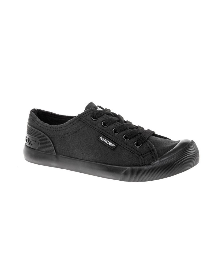Image for Rocket Dog Womens Jazzin Canvas Fable Lace Up Trainers