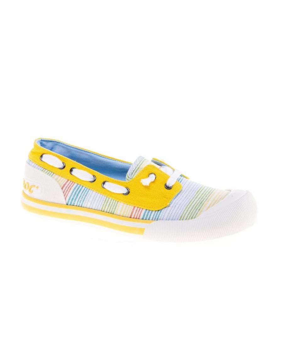 Image for Rocket Dog Womens Jazzin Jetty Ravi Slip On Boat Shoes