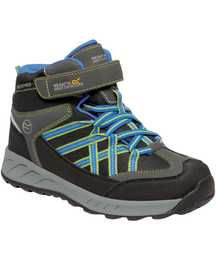 Image for Regatta Boys Samaris V Mid Height Isotex Walking Boots