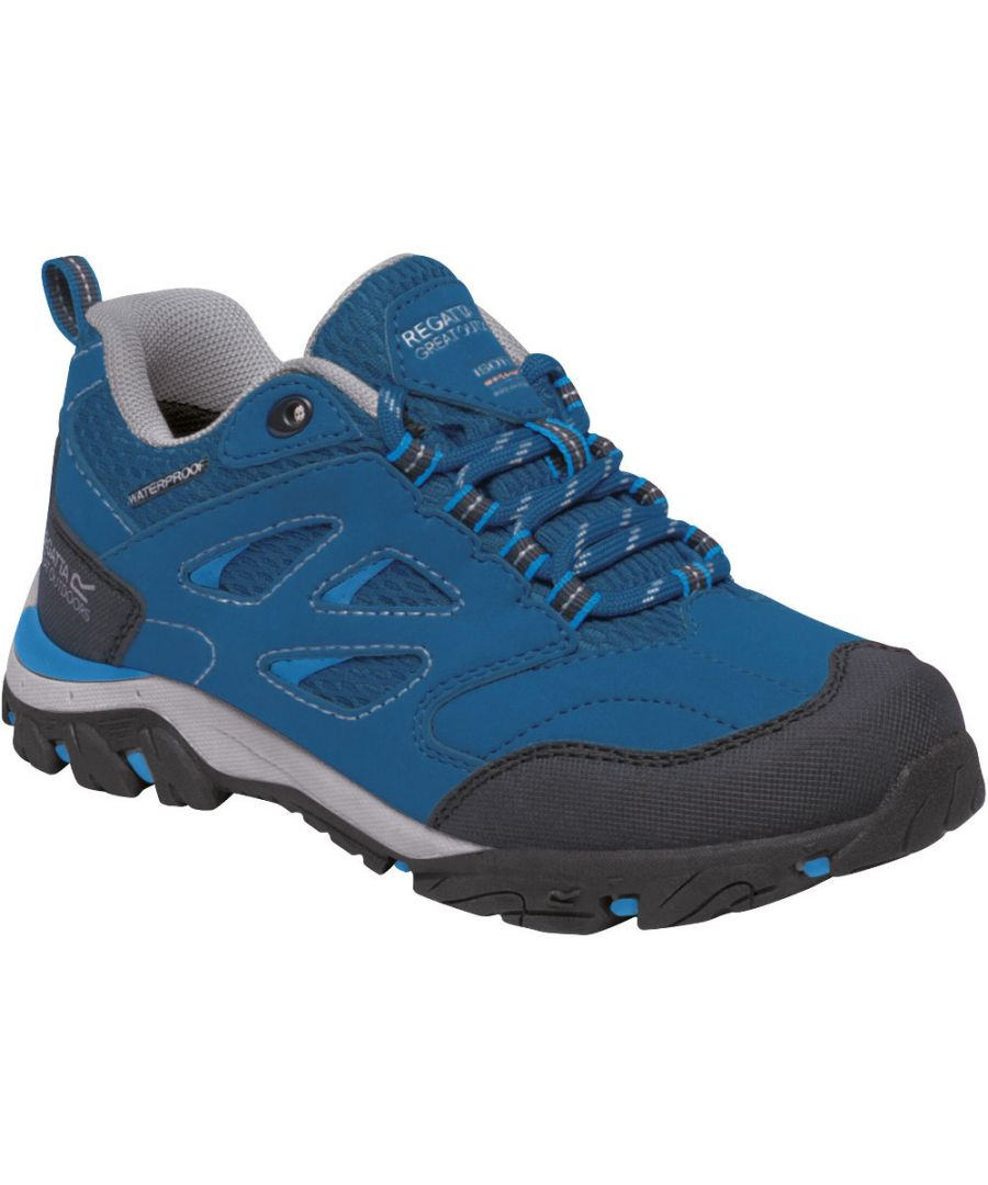 Image for Regatta Boys & Girls Holcombe Low Isotex Waterproof Walking Shoes