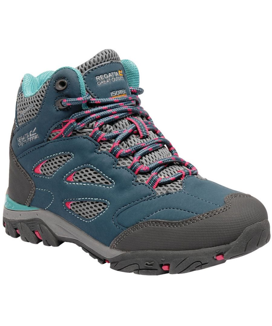 Image for Regatta Boys & Girls Holcombe IEP Isotex Waterproof Walking Boots