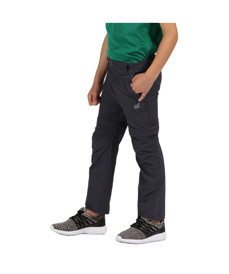 Image for Regatta Boys Hikefell Zip Off Water Repellent Trousers