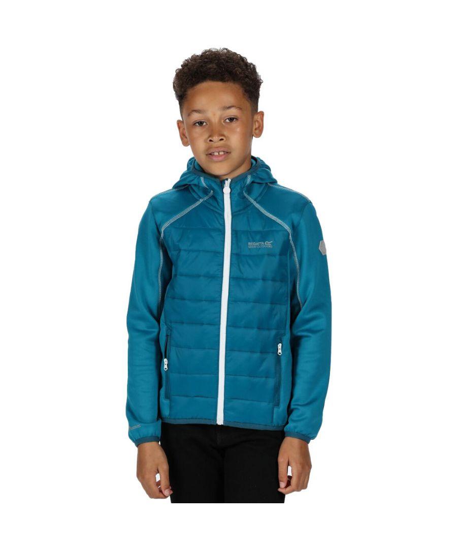 Image for Regatta Boys & Girls Kielder IV Hybrid Warm Jacket