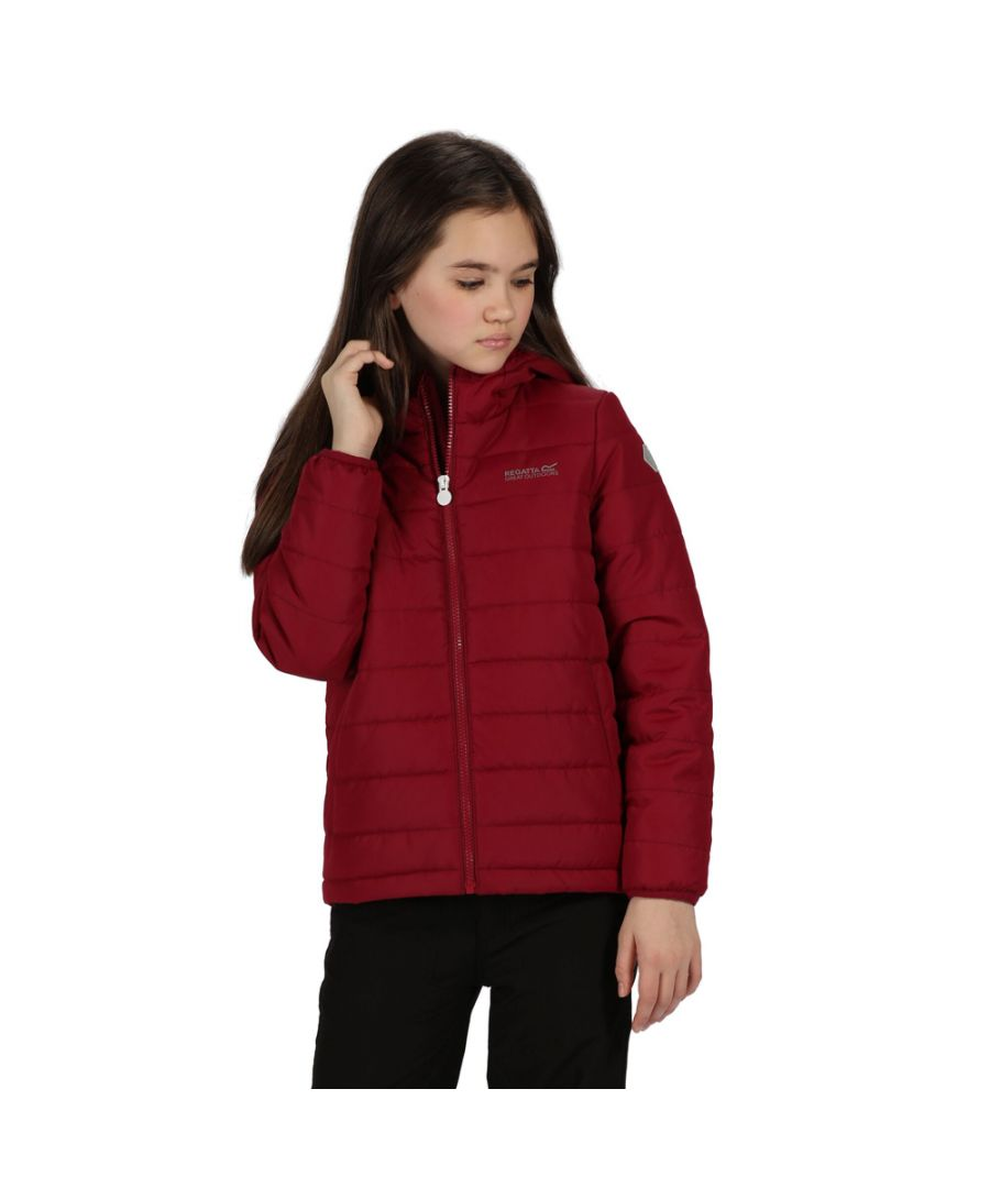 Image for Regatta Girls Helfa Insulated Quilted Hooded Jacket