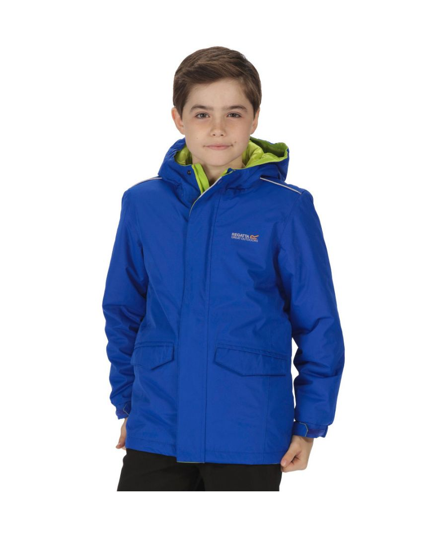 Image for Regatta Boys & Girls Hurdle Waterproof Insulated Jacket