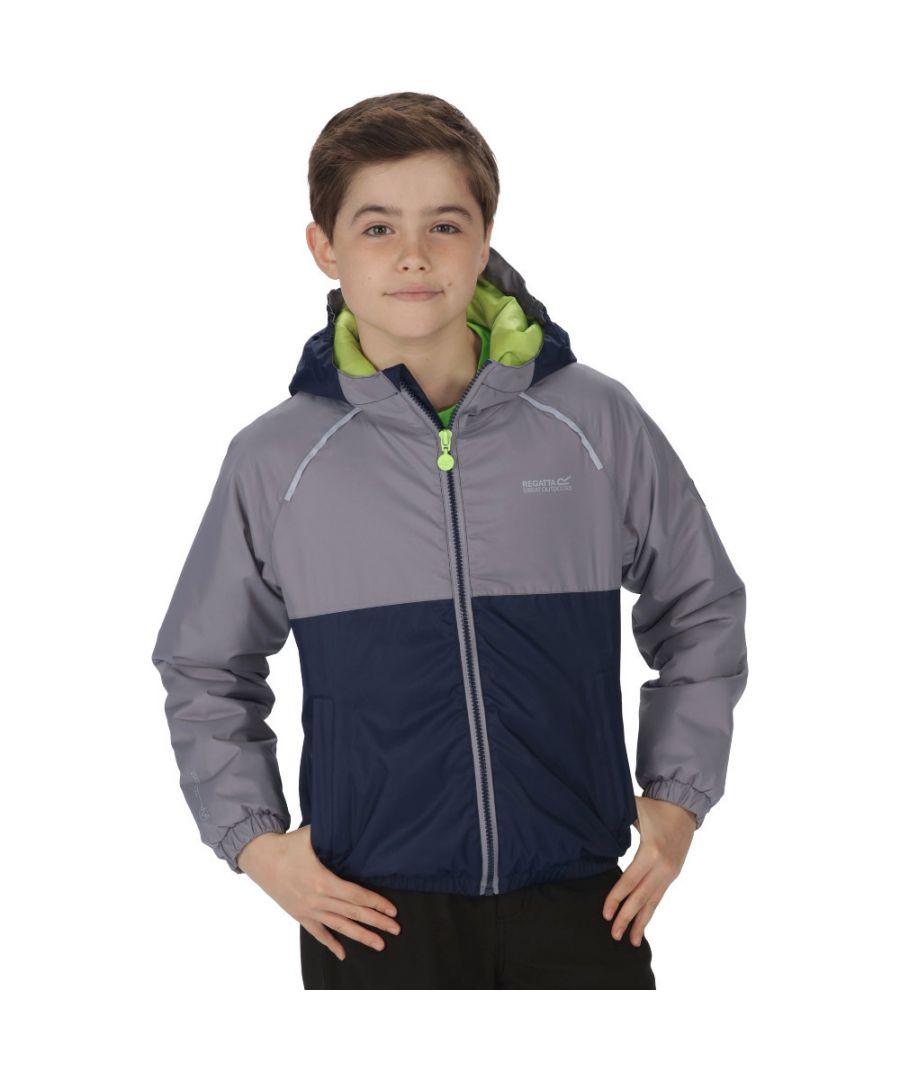 Image for Regatta Boys & Girls Urbanyte Waterproof Insulated Coat Jacket