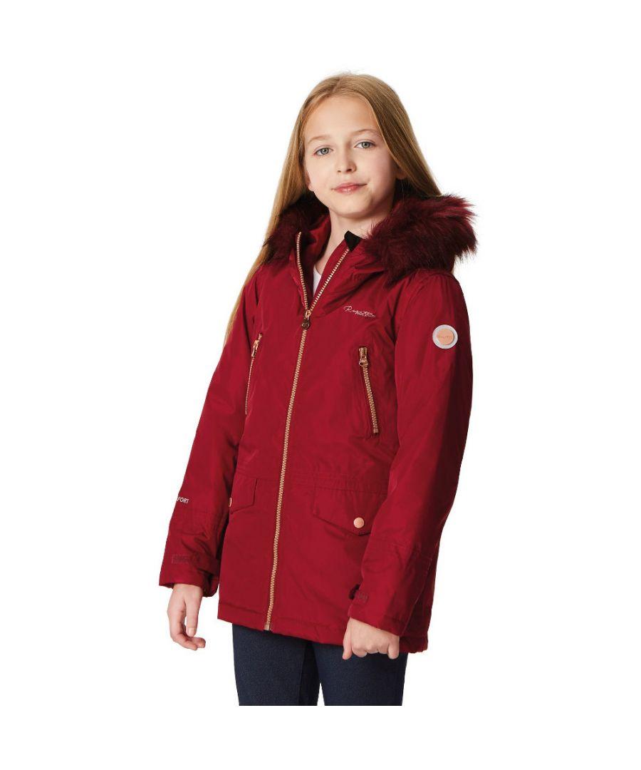 Image for Regatta Boys & Girls Pecola Durable Thermal Waterproof Walking Jacket