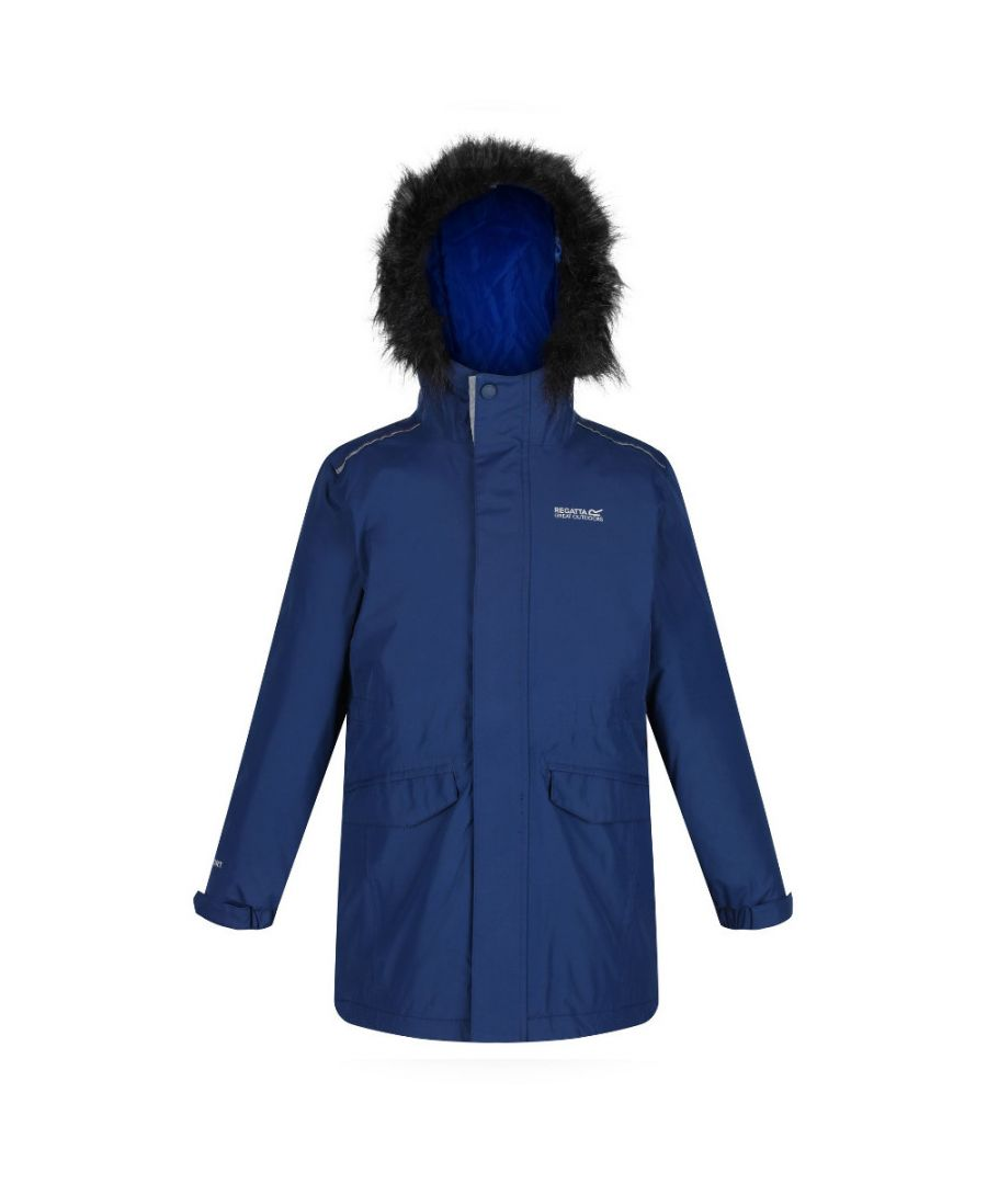 Image for Regatta Boys Perry Waterproof Breathable Jacket Coat