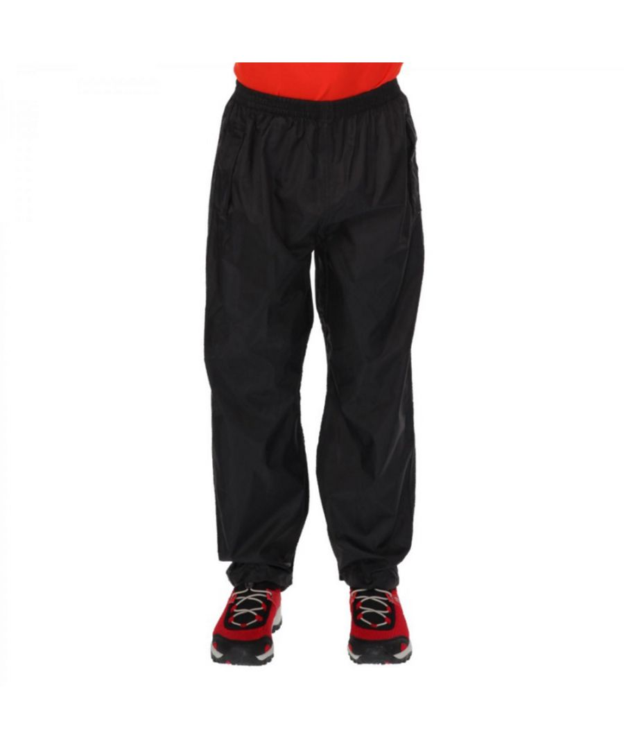 Image for Regatta Boys & Girls Kids Pack It Lightweight Waterproof Overtrousers