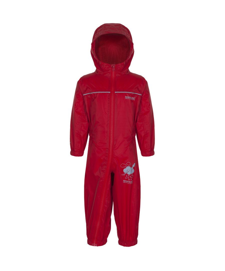 Image for Regatta Boys & Girls Puddle IV Waterproof All-In-One Suit