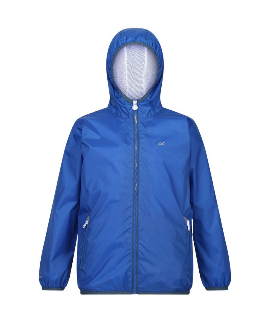 Image for Regatta Boys & Girls Lever II Stretch Waterproof Breathable Jacket