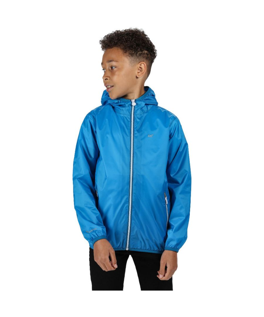 Image for Regatta Boys & Girls Lever II Stretch Waterproof Breathable Jacket