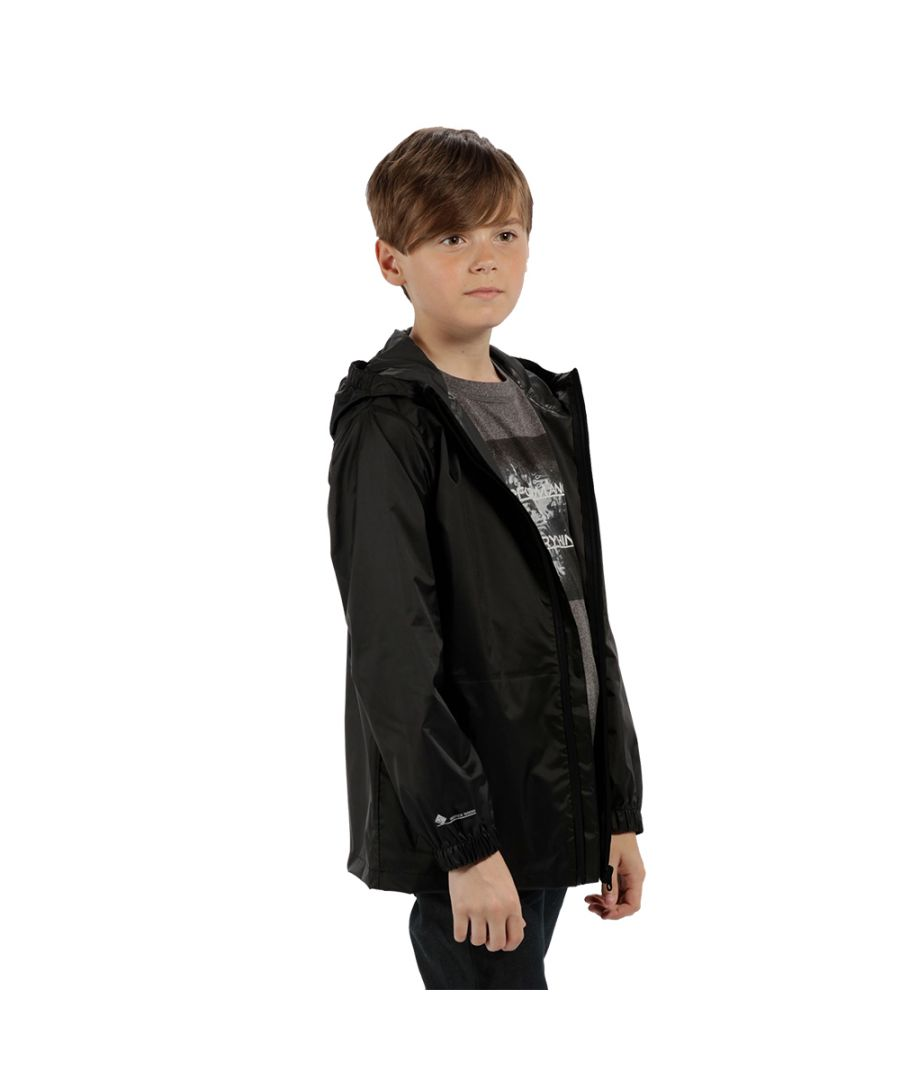 Image for Regatta Boys & Girls Pack-It Packable Waterproof Breathable Jacket