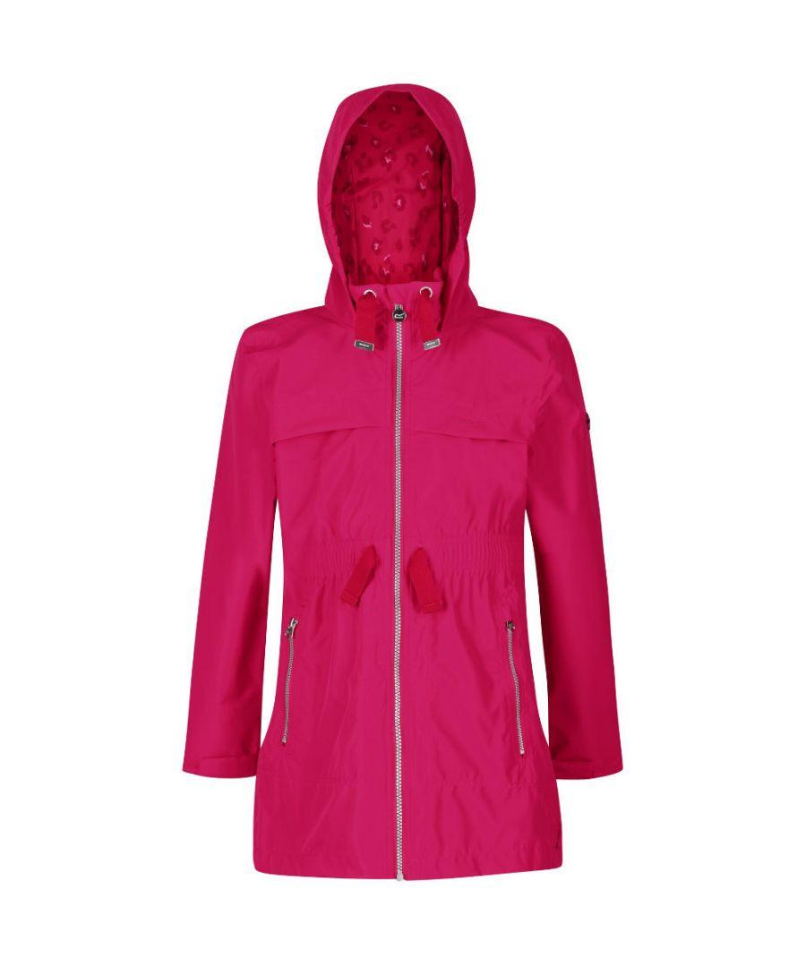 Image for Regatta Girls Talina Waterproof Breathable Durable Coat