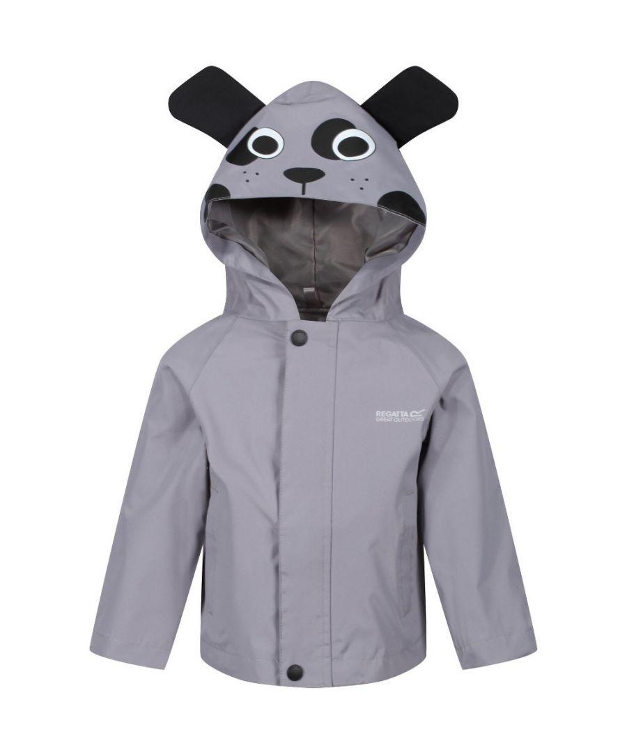Image for Regatta Boys & Girls Animal Durable Water Repellent Jacket