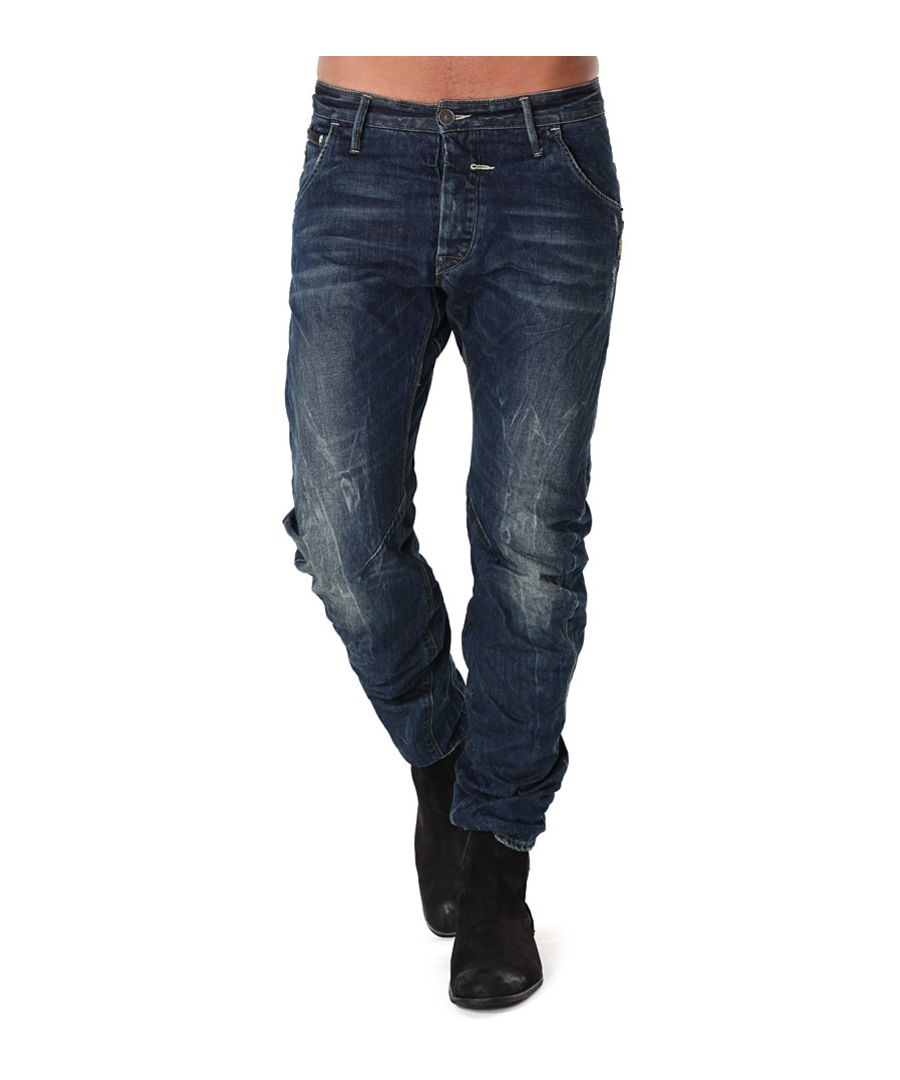 Image for G-Star Riley Loose Tapered Rugby Wash Arizona Denim Jeans