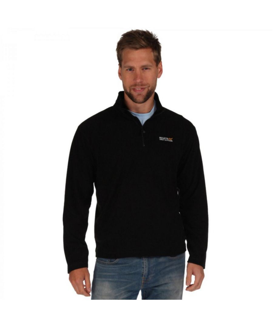 Image for Regatta Mens Thompson Half Zip Lightweight Walking Fleece Jacket