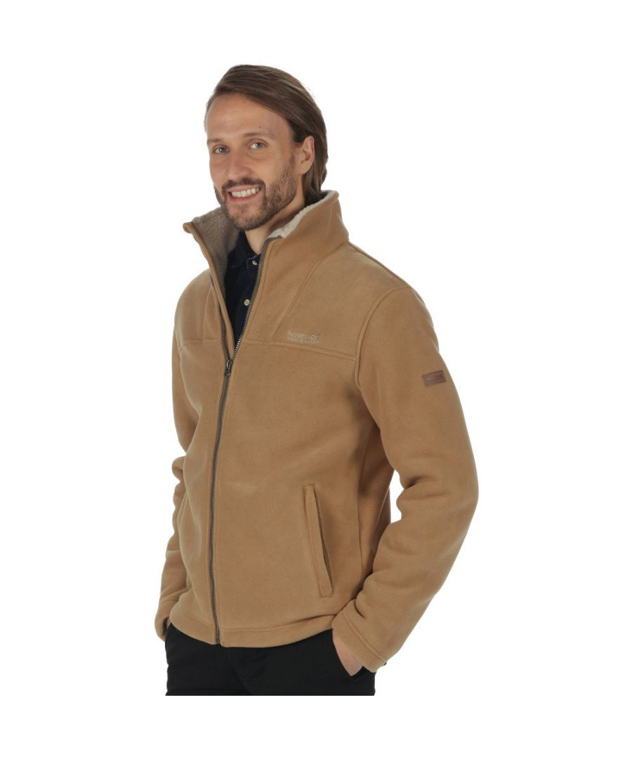 Image for Regatta Mens Grove Full Zip Heavyweight Thick Fleece Jacket