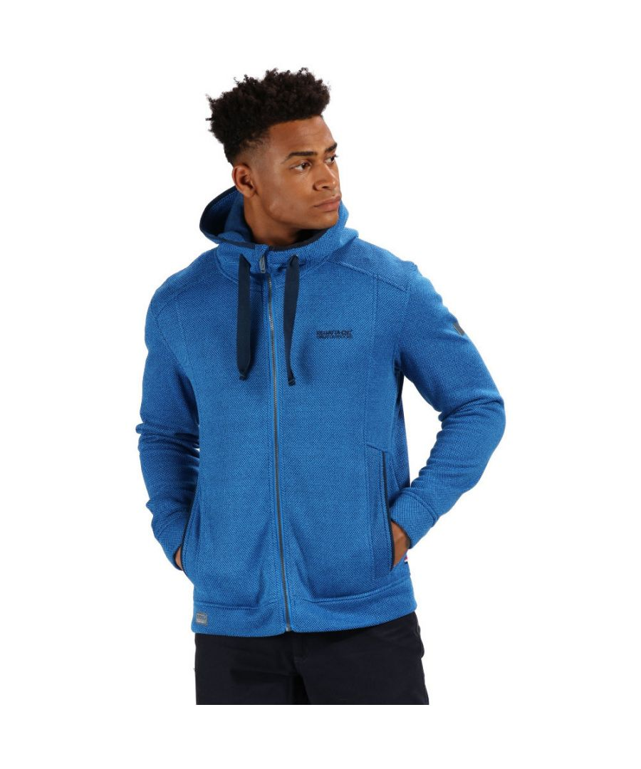 Image for Regatta Mens Langdon Polyester Two Tone Fleece Jacket