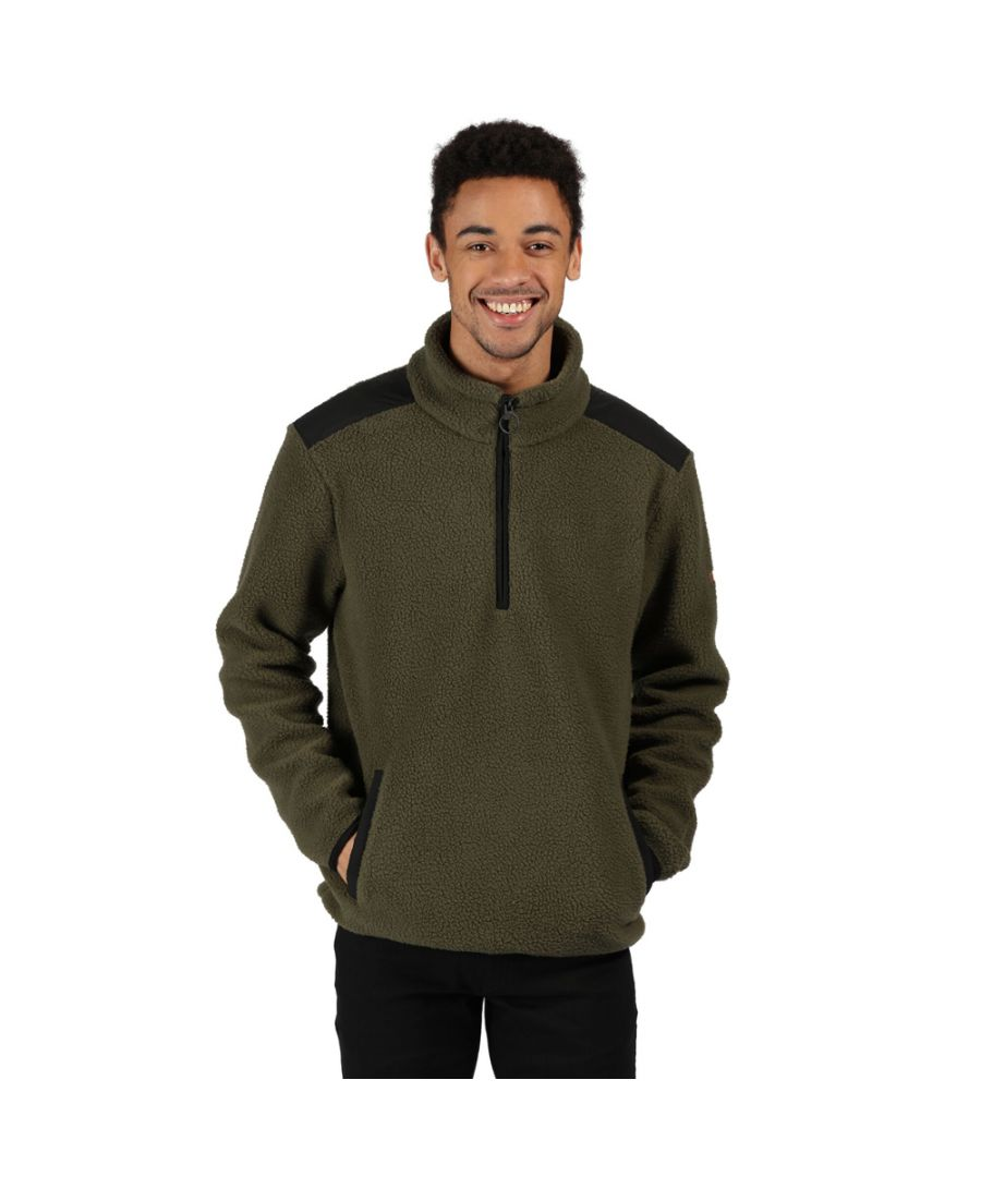 Image for Regatta Mens Colman Half Zip Fleece Jacket