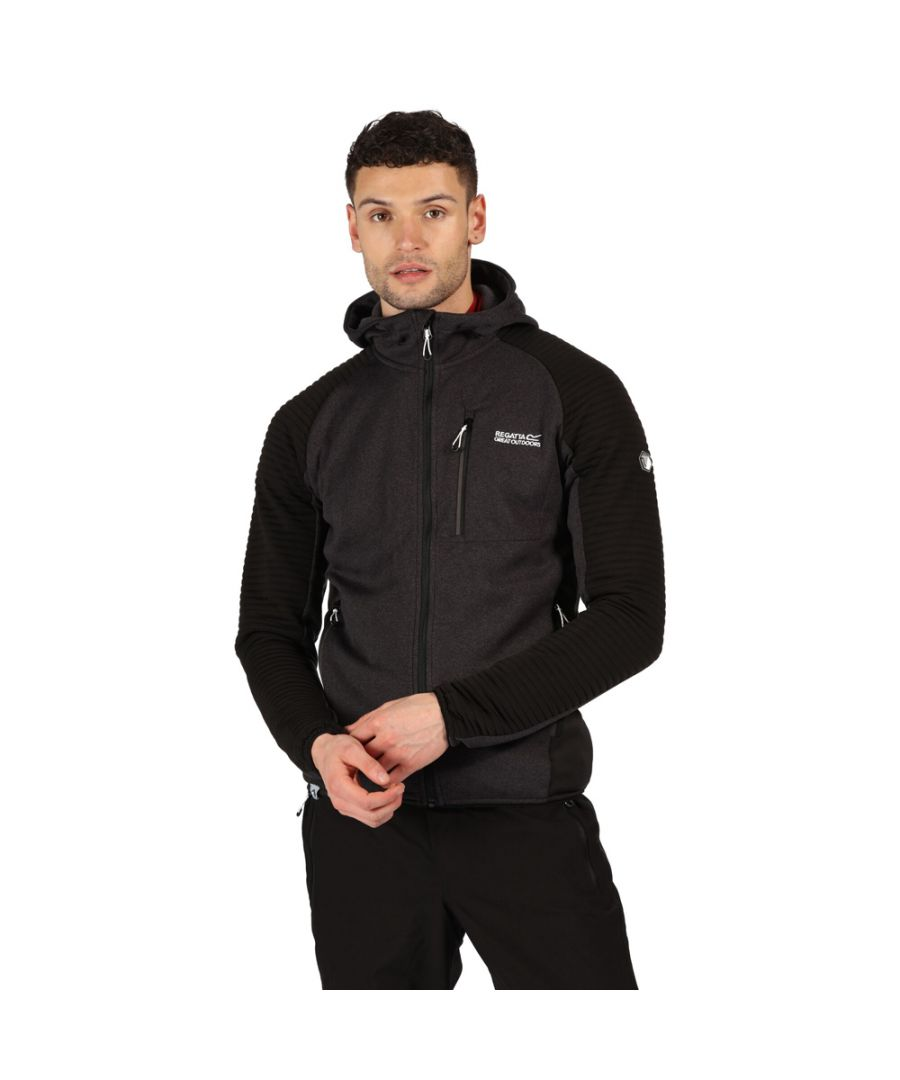 Image for Regatta Mens Woodford Full Zip Hooded Fleece Jacket