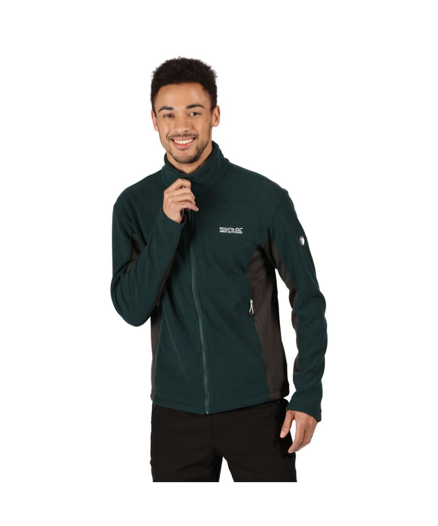 Image for Regatta Mens Highton Full Zip Two Tone Fleece Jacket