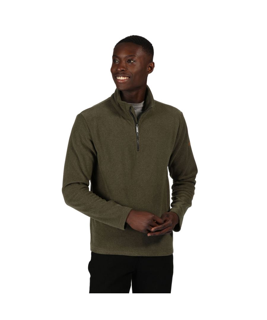 Image for Regatta Mens Edley Half Zip Two Tone Fleece Jacket