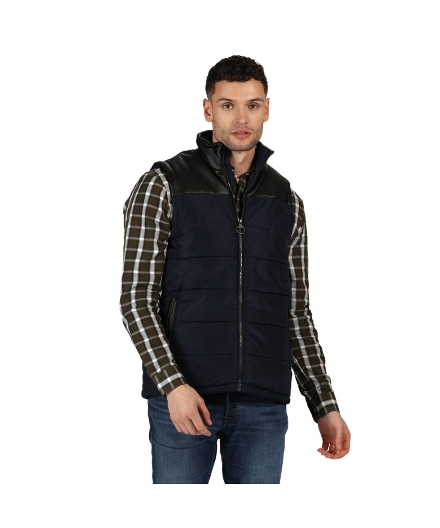 Image for Regatta Mens Hamill Insulated Quilted Walking Bodywarmer