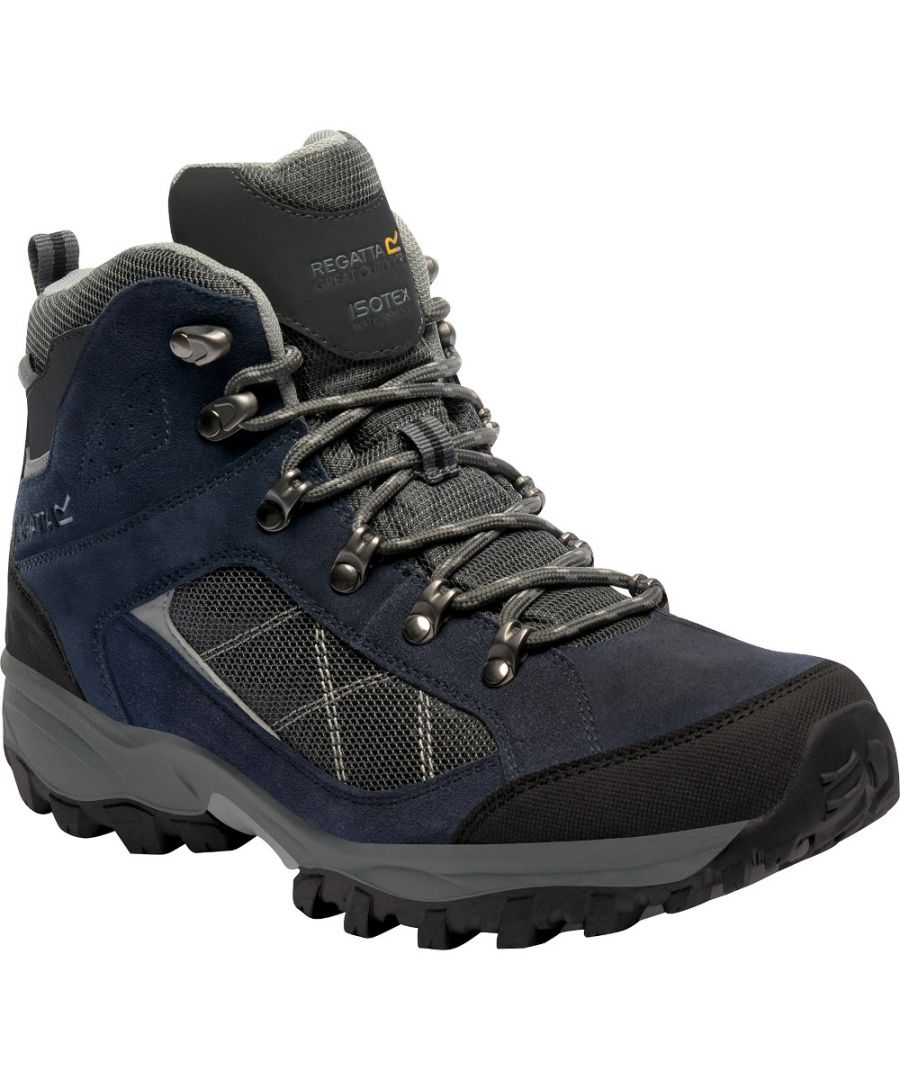 Image for Regatta Mens Clydebank Waterproof Breathable Mesh Walking Boots