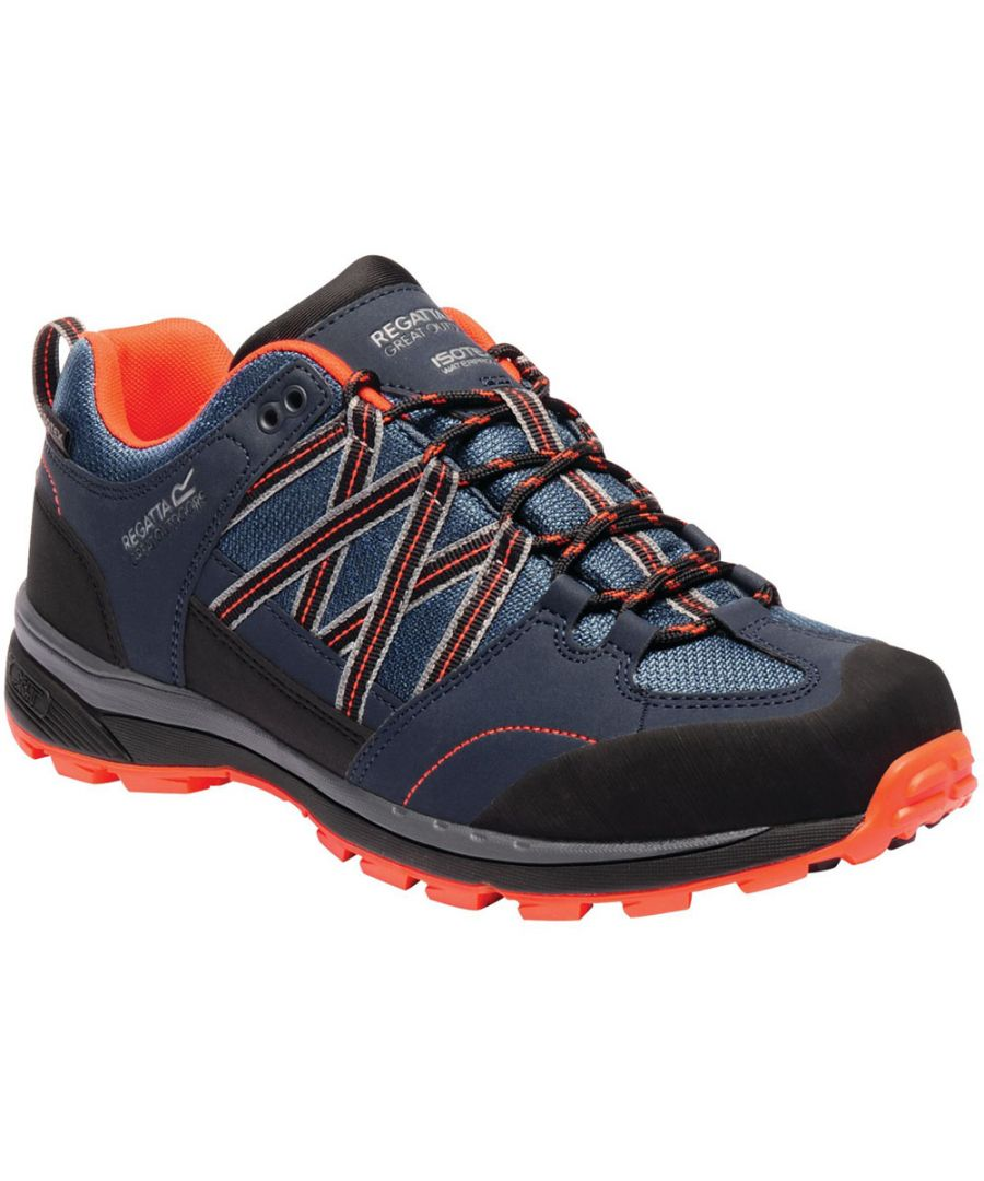 Image for Regatta Mens Samaris Low II Waterproof Seam Sealed Walking Shoes