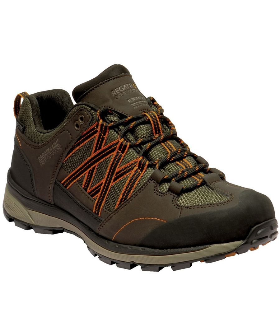 Image for Regatta Mens Samaris Low II Waterproof Seam Sealed Walking Shoes