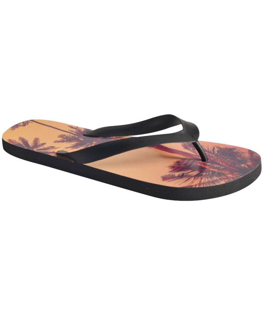Image for Regatta Mens Bali Lightweight Cushioned Flip Flop Thong-Style Sandals