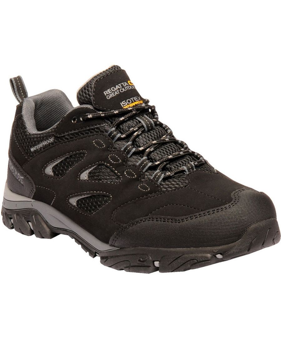 Image for Regatta Mens Holocombe IEP Low Isotex Waterproof Fabric Walking Shoes
