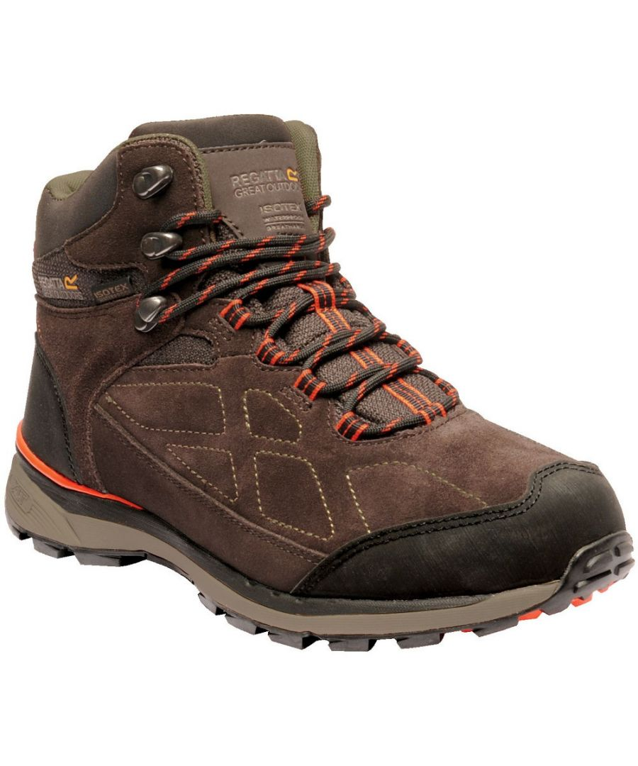 Image for Regatta Mens Samaris Suede Isotex Waterproof Fabric Walking Boots