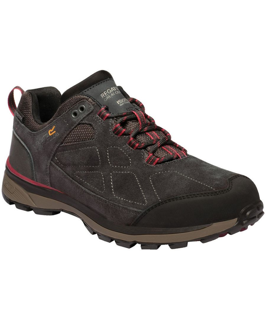 Image for Regatta Mens Samaris Suede Low Isotex Waterproof Fabric Walking Boots