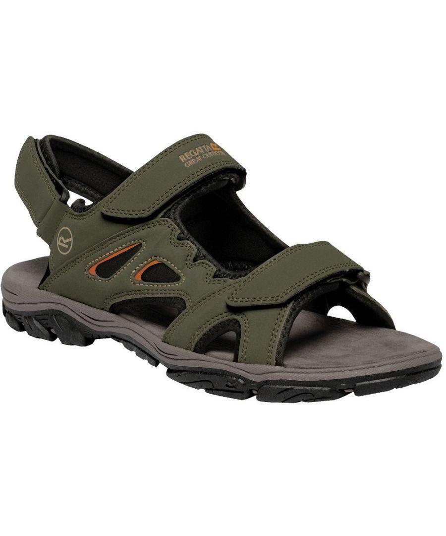 Image for Regatta Mens Holcombe Vent Lightweight Open Walking Sandals
