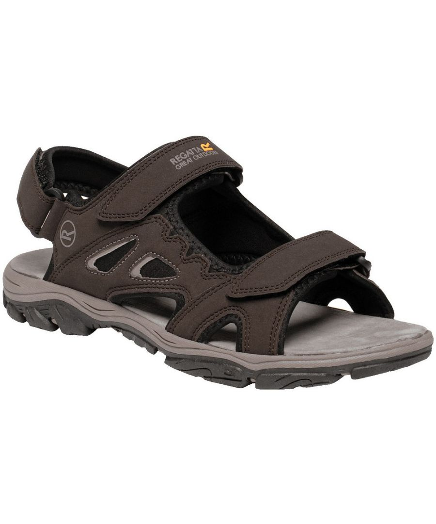 Image for Regatta Mens Holcombe Vent Lightweight Open Walking Sandals