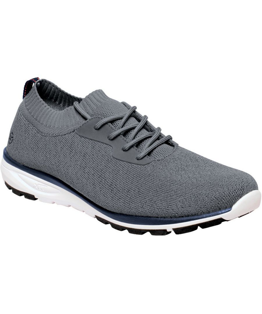 Image for Regatta Mens Marine Active Knitted Mesh Lace Up Trainers