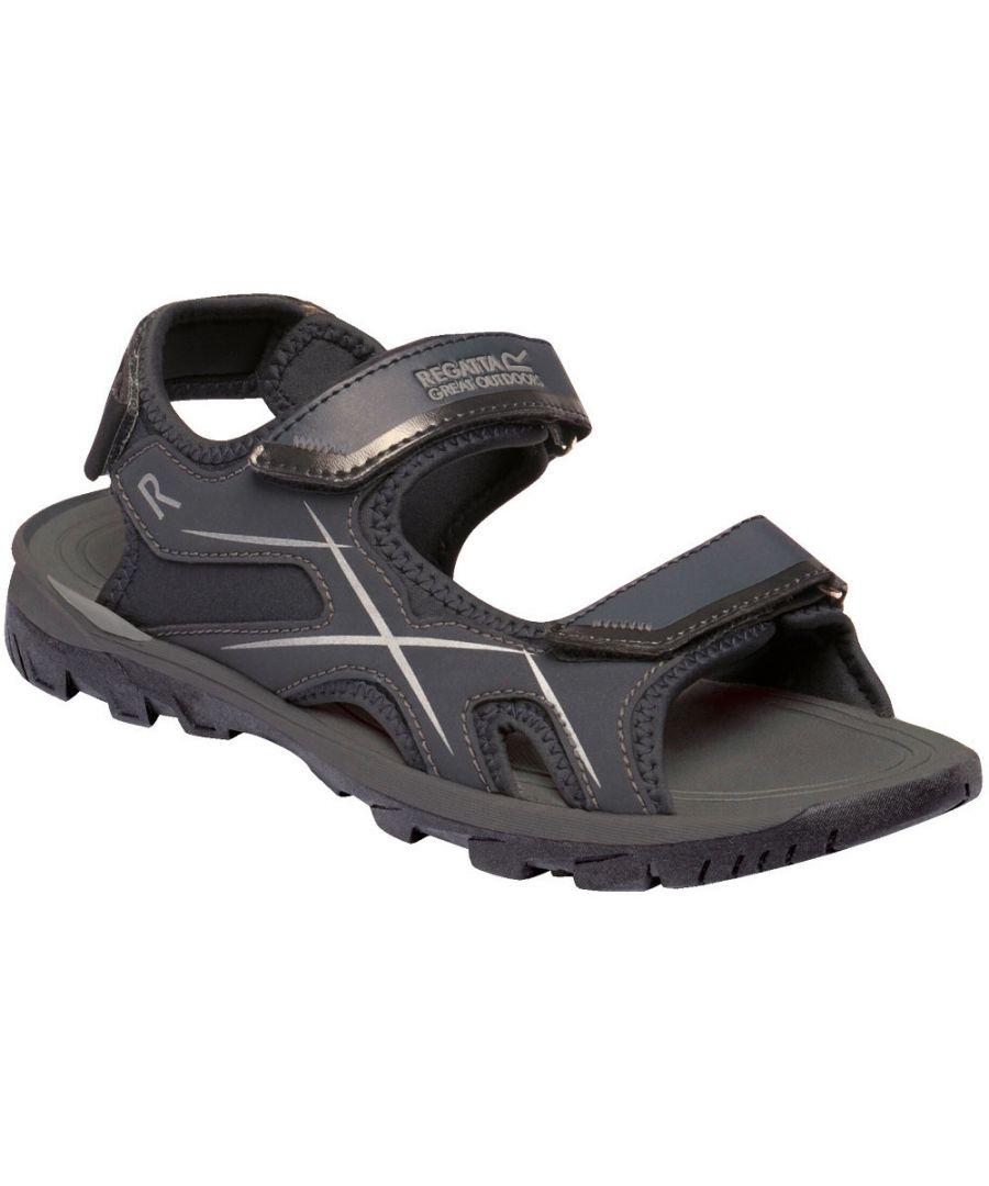 Image for Regatta Mens Kota Drift Open Toe Lightweight Walking Sandals