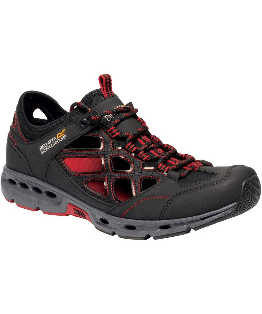 Image for Regatta Mens Samaris Crosstrek Open Cell Walking Shoes