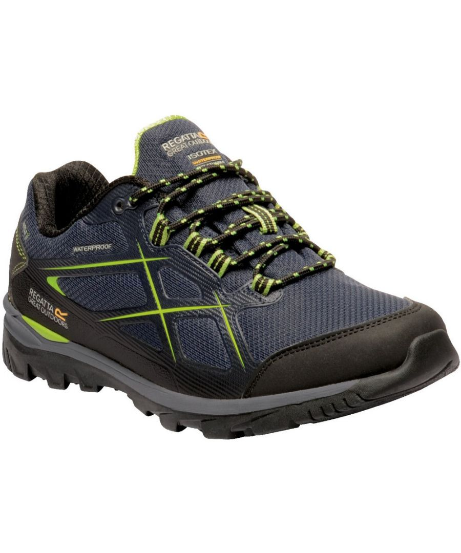 Image for Regatta Mens Kota Low II Isotex Thermo Guard Walking Shoes